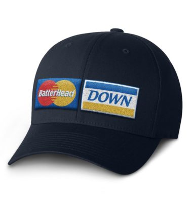 BHD Flexfit Cap — Navy with Credit Logo
