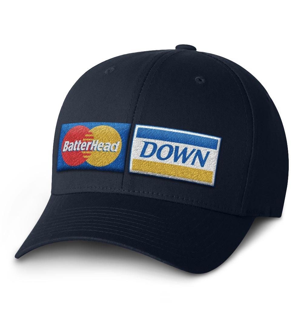 BHD Flexfit Cap — Navy with Credit Logo