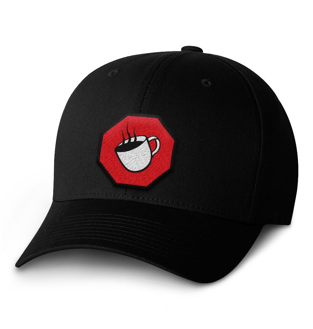 TSCS Flexfit Cap — Black with Logo