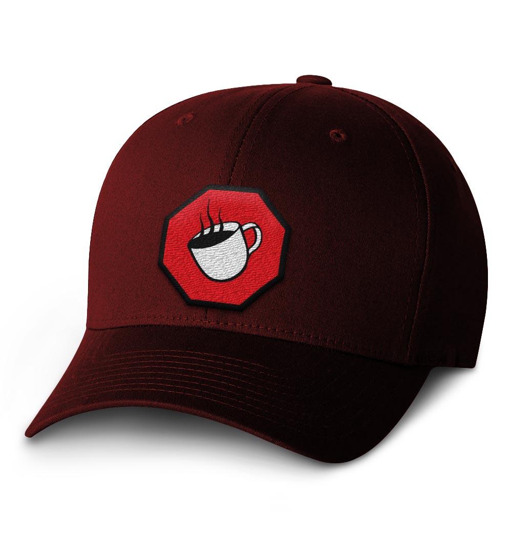 TSCS Flexfit Cap — Maroon with Logo