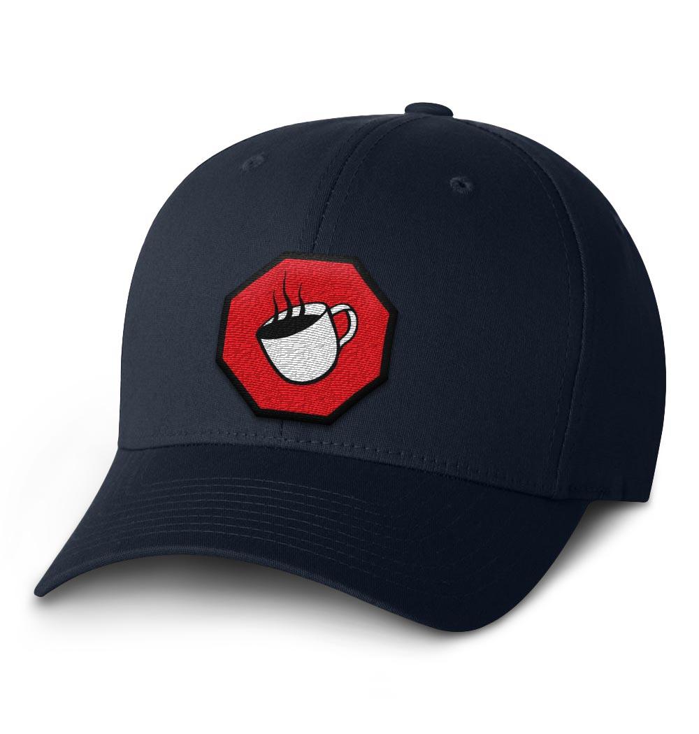 TSCS Flexfit Cap — Navy with Logo